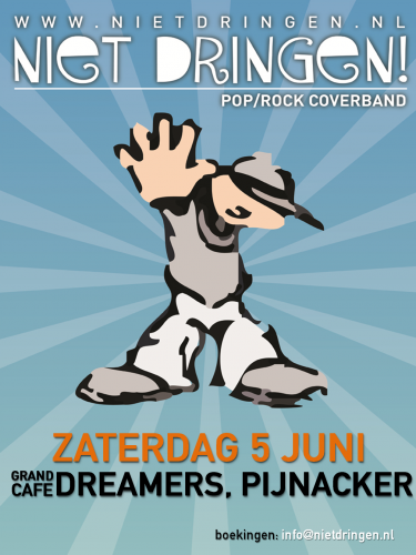 5 juni FEEST in de Dreamer Pijnacker!